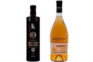 Sweet wines (Mavrodaphni, Moschato)